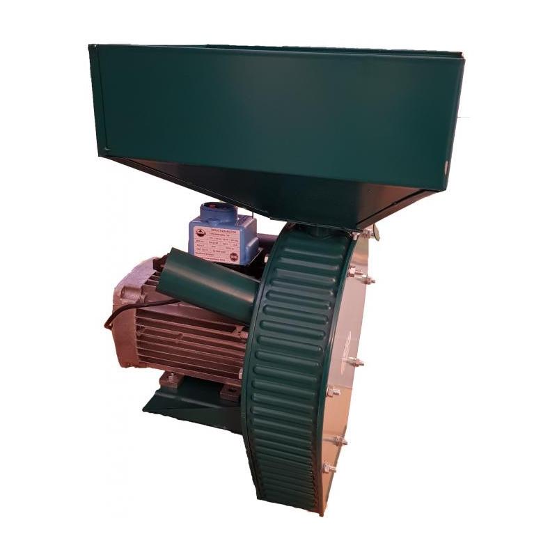 Moara electrica pentru cereale, 24 ciocanele, 2500 W, 3000 Rpm, 350 kg/h, motor cupru shopu.ro