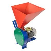 Moara electrica pentru boabe Mlinok, 3500 W, 2850 rpm, 500 kg/h, cuva 30 x 30 x 25 cm, bobinaj cupru