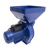 Moara electrica pentru cereale Campion, 3.8 kW, Nr.2, 200 kg/h, 3500 rpm, 4 site, tambur 16 ciocanele
