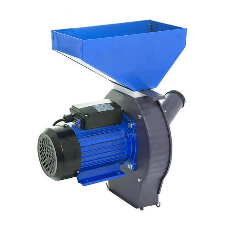 Moara electrica pentru cereale/stiuleti Craft Tec, 3800 W, 3000 rpm, 200 kg/h, Albastru 2021 shopu.ro