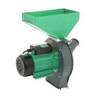 Moara electrica pentru cereale/stiuleti Craft Tec, 3800 W, 3000 rpm, 200 kg/h, Verde