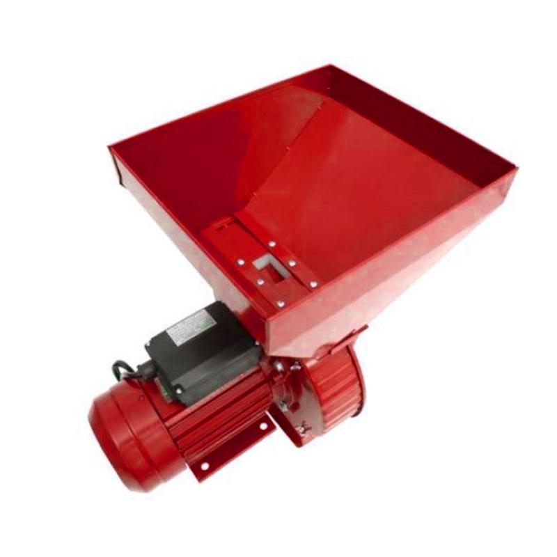 Moara electrica ruseasca pentru cereale/stiuleti Craft Tech, 3000 rpm, 3800 W, 300 kg/h, 4 site incluse, Rosu