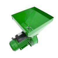 Moara electrica ruseasca pentru cereale/stiuleti Craft Tech, 3000 rpm, 3800 W, 300 kg/h, 4 site incluse, Verde