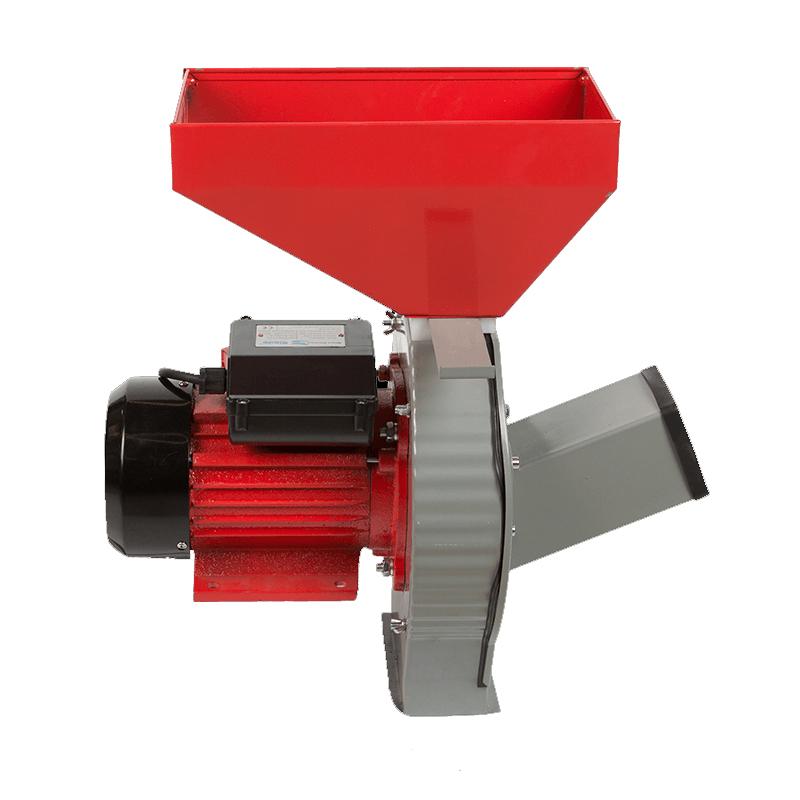 Moara electrica pentru cereale/furaje Blade, model A, 2.7 kW, 2850 rpm, 200 kg/h, 4 site shopu.ro