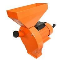 Moara pentru cereale/stiuleti Honest, 1100 W, 3000 rpm, 180 kg/h, Portocaliu