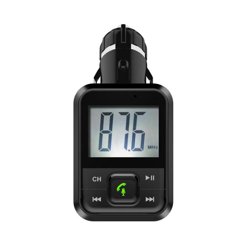 Modulator FM Bluetooth Joy Well, memorie USB, negru