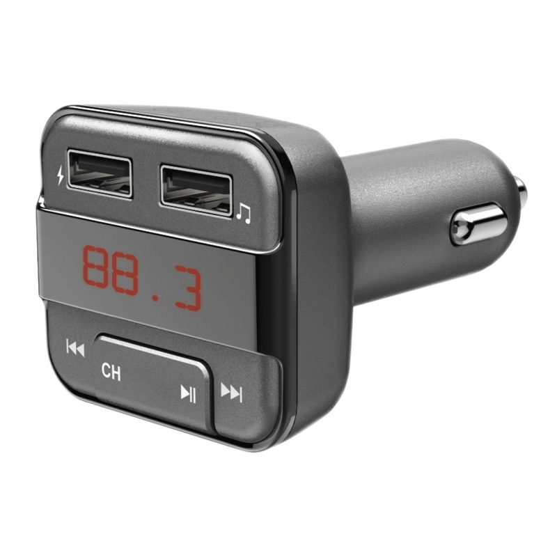 Modulator FM bluetooth Hama, MicroSD, USB, alimentare 12 V 2021 shopu.ro