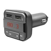Modulator FM bluetooth Hama, MicroSD, USB, alimentare 12 V