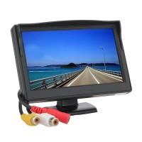 Monitor auto TFT LCD, 4.3 inch, Negru