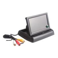 Monitor auto retractabil LCD, 4.3 inch, Negru
