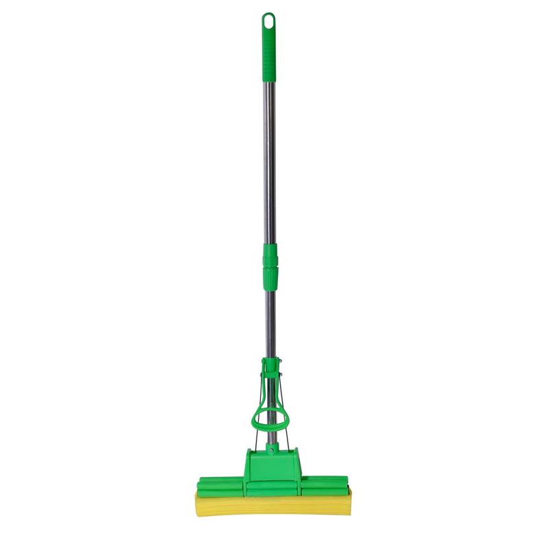 Mop buretat cu maner, 33 cm, Verde shopu.ro
