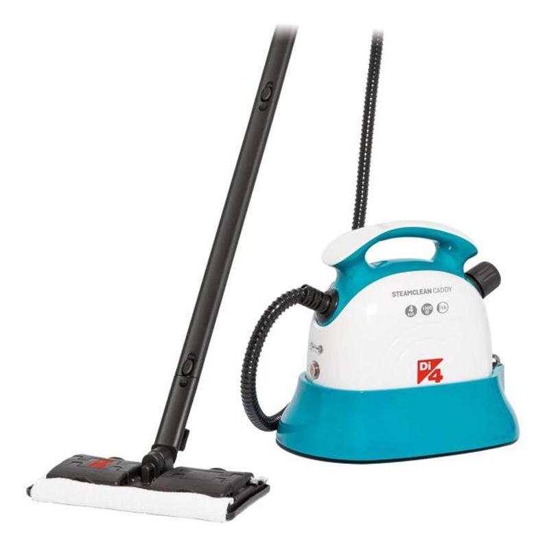 Mop cu abur Steam Clean Caddy Daga, 1500 W, 1100 ml, 4 BAR, LED, lavete microfibra shopu.ro