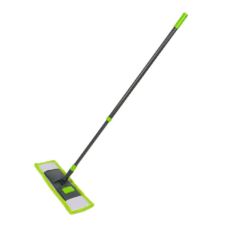 Mop cu laveta microfibra Sun Cleaning, 130 cm, baza pliabila shopu.ro