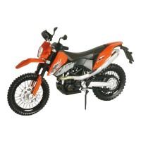 Motocicleta KTM 690, cadru metalic, scara 1:18