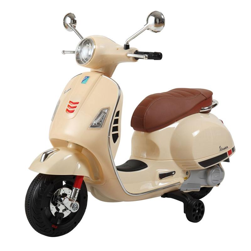 Motocicleta pentru copii Vespa, suporta maxim 30 kg, 3 ani+ 2021 shopu.ro