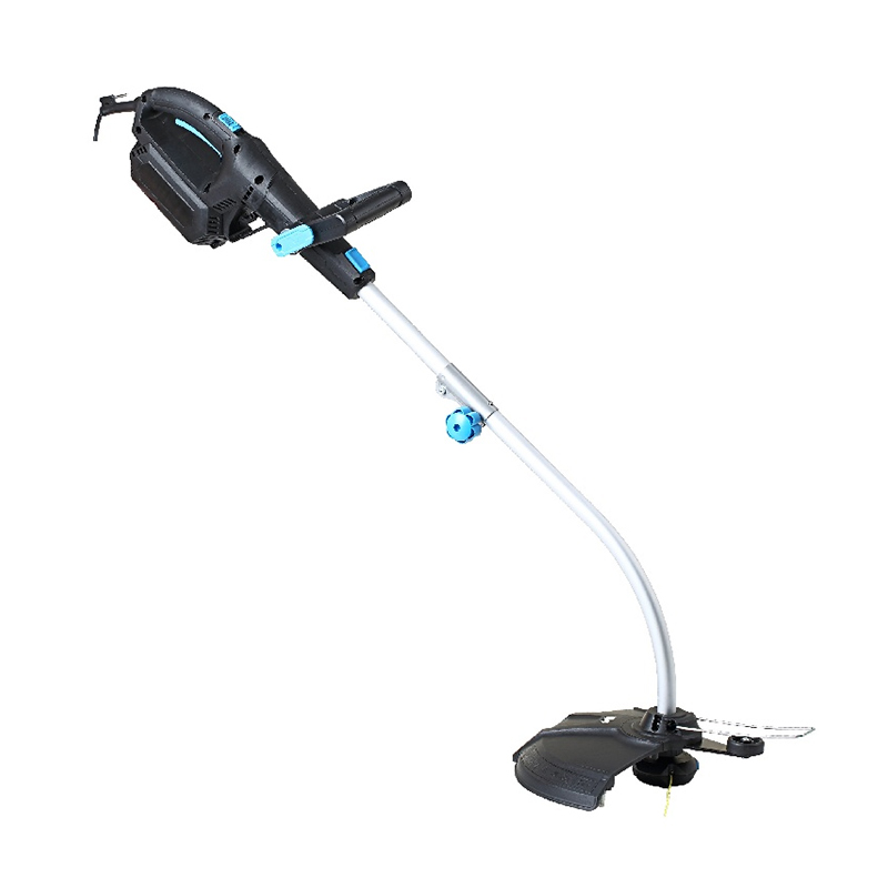 Motocoasa electrica Mac Allister, 1000 W, 16 Ah, maner moale, Negru/Alb 2021 shopu.ro