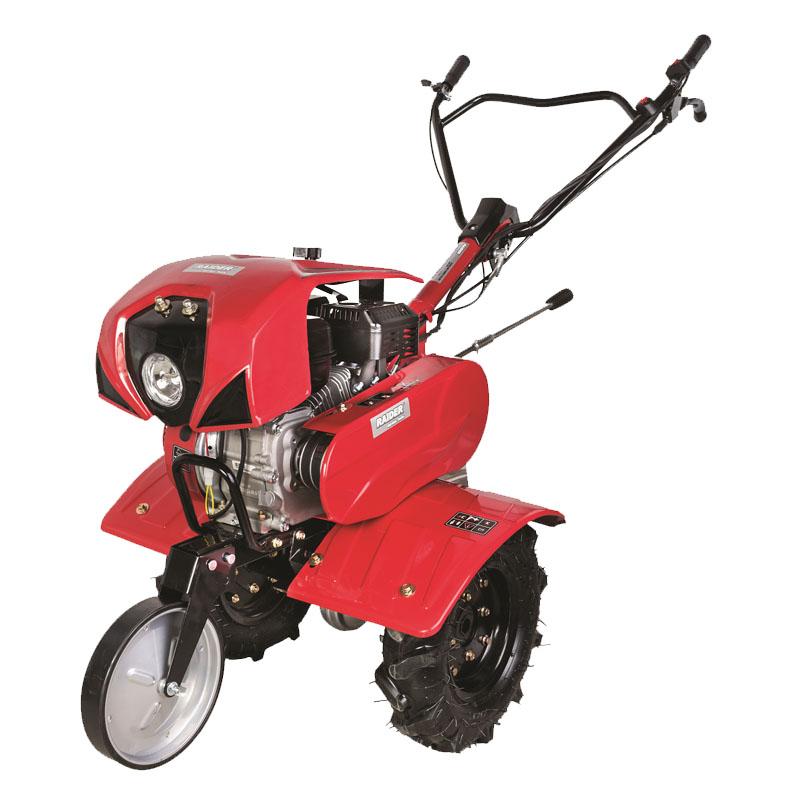 Motocultor Raider, 208 cc, 7 cp, 3.6 l, motor 4 timpi, 2 + 1 viteze, latime de lucru 1000 mm, adancime de lucru 300 mm, pornire manuala, accesorii incluse shopu.ro