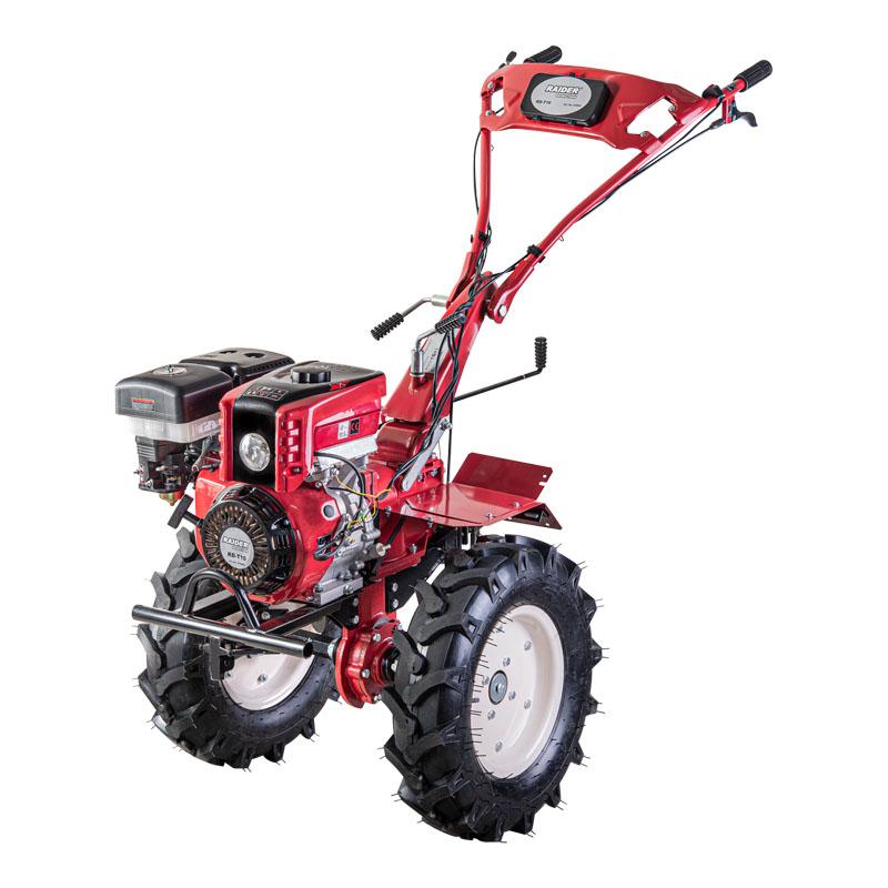 Motocultor Raider, 9.7 kW, 389 cc, 6.5 l, 2500 rpm, motor 4 timpi, latime de lucru 1400 mm, adancime de lucru 350 mm, 2 + 1 viteze