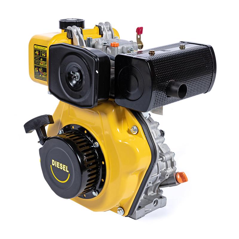 Motor Diesel Micul Fermier, 211 CC, 5 CP, motor 4 timpi, ax orizontal, rezervor 2.5 l, pornire electrica 2021 shopu.ro