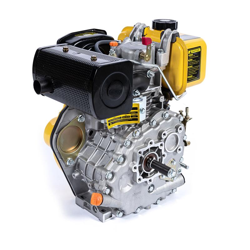 Motor Diesel Micul Fermier, 211 CC, 5 CP, motor 4 timpi, ax orizontal, rezervor 2.5 l, pornire electrica