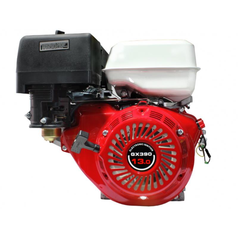 Motor monocilindru pe benzina Micul Fermier, 13.6 CP, 389 CC, motor 4 timpi, rezervor 3.5 l, sistem aprindere TCI 2021 shopu.ro