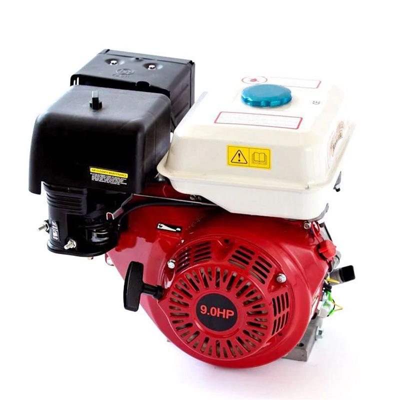 Motor pe benzina Micul Fermier, 9 CP, 270 CC, rezervor 1.1 l, ax tip pana, filtru burete 2021 shopu.ro