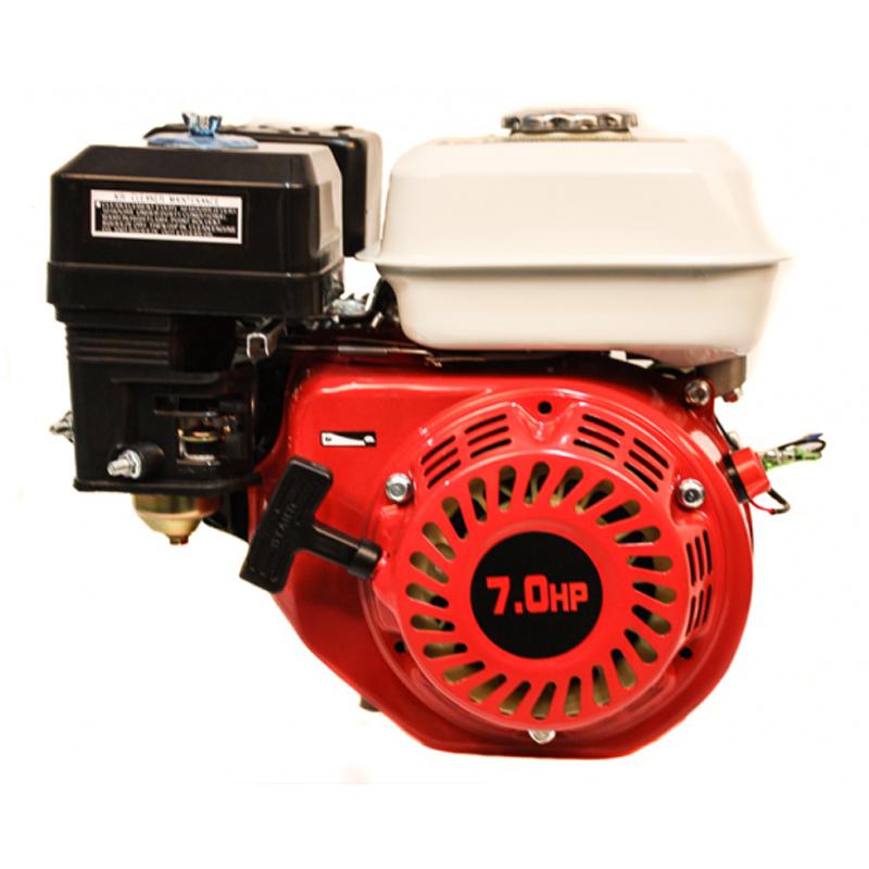 Motor pe benzina Micul Fermier, rezervor 3.6 l, 7 CP, 196 CC, bujie F6TC, pornire sfoara shopu.ro
