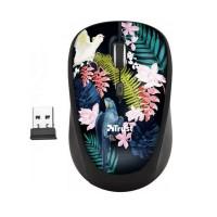 Mouse Trust Yvi, Wireless 2.4 Ghz, 1600 DPi Reglabil, Receiver USB, 4 Butoane, Senzor Optic, Multicolor