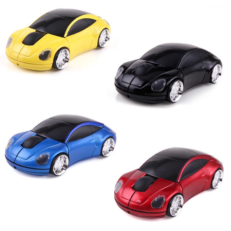 Mouse optic cu fir, conectare USB, model masina