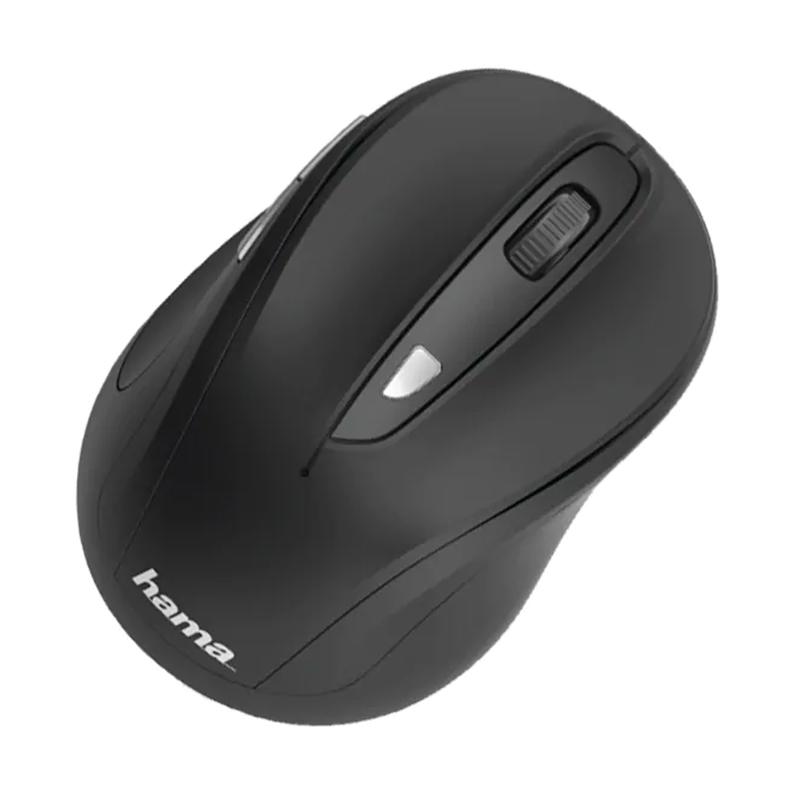 Mouse Wireless MW-400 Hama, 1600 dpi, 6 butoane, USB, Negru 2021 shopu.ro