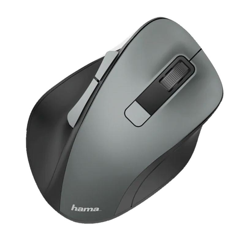 Mouse Wireless MW-500 Hama, 1600 dpi, 6 butoane, USB, Gri 2021 shopu.ro