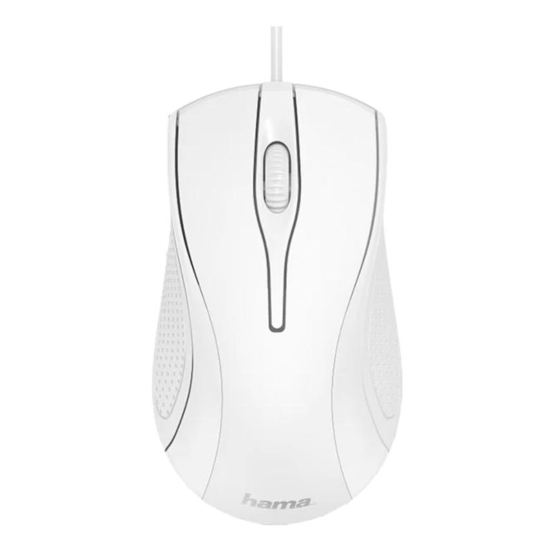 Mouse optic MC-200 Hama, 1200 dpi, 3 butoane, Alb 2021 shopu.ro