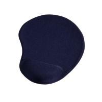 Mouse Pad mini Hama, 20 x 23 cm, ergonomic, Albastru