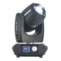 Moving Head Beam cu DMX, 132 W, 16 canale, 14 culori, efecte