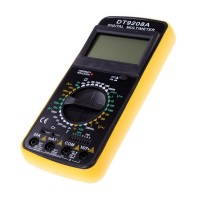 Multimetru digital DT9208A, carcasa antisoc