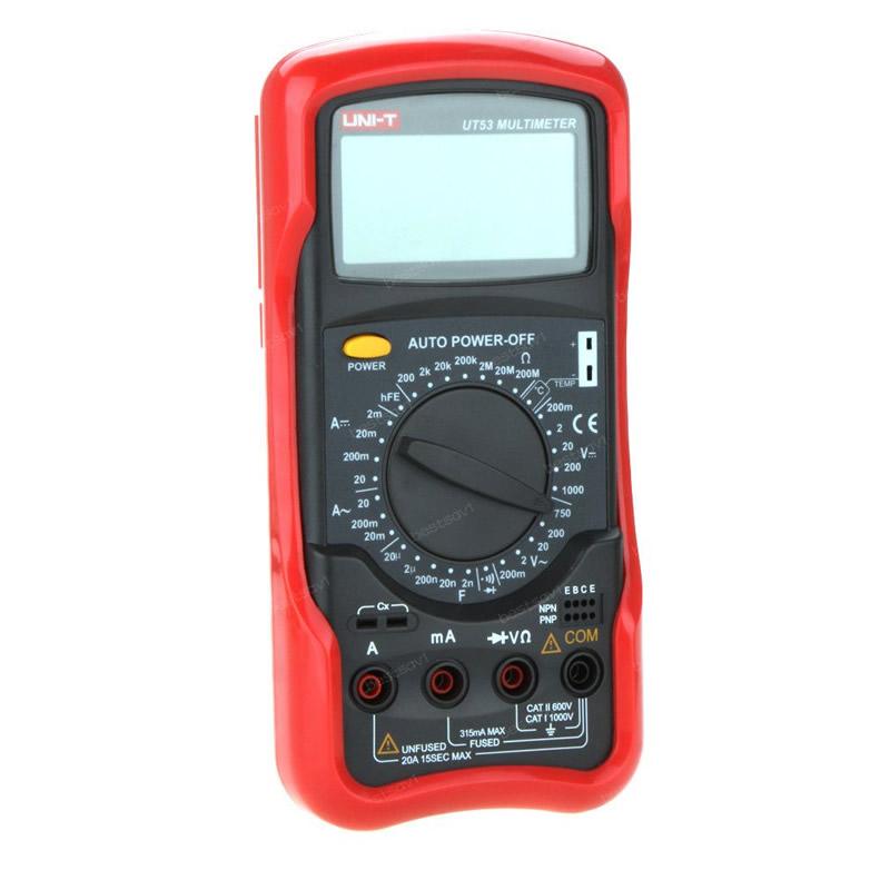 Multimetru digital UT53 UNI-T, continuitate buzzer 2021 shopu.ro