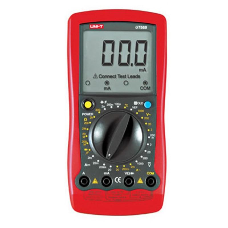 Multimetru digital UT58B UNI-T, 7 functii 2021 shopu.ro