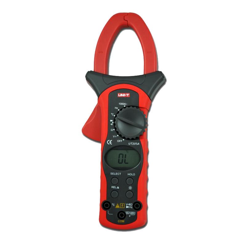 Multimetru tip clampmetru UT205A, buzzer, autoscalare 2021 shopu.ro