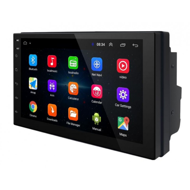 Navigatie auto Multimedia 7168, 2 x DIN, Android 8.1, GPS, Radio, display 7 inch, Quad Core 2021 shopu.ro