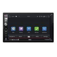 Navigatie auto Multimedia Akai, 2 x DIN, Android 5.0, 1024 x 600 px, GPS, USB, SD Card, telecomanda