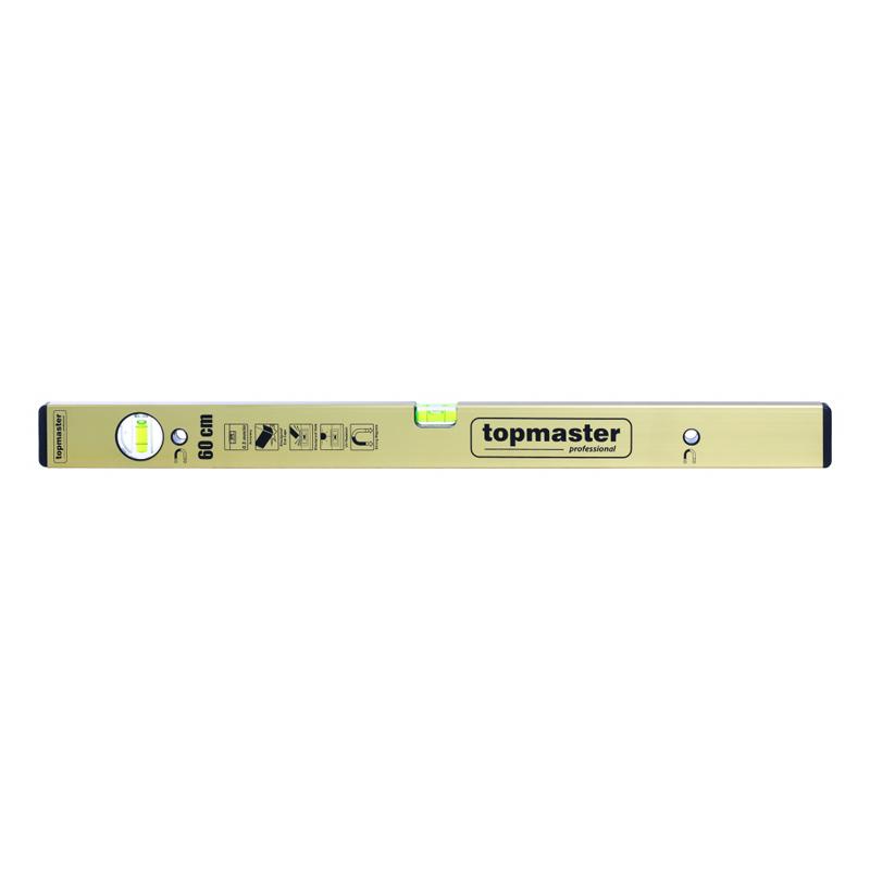 Nivela aluminiu magnetica Top Master Pro Stark, 800 mm, 2 bule