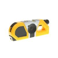 Nivela cu laser si ruleta incorporata, 6 m, laser 2.5 m, 2 x AAA