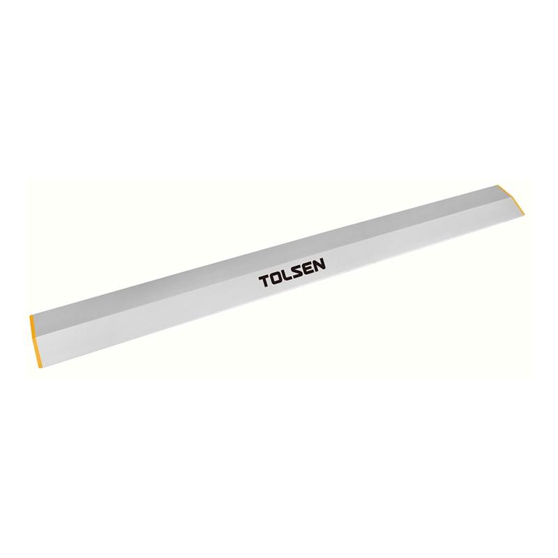 Nivela Tolsen, 100 x 18 mm x 2.5 m, aluminiu 2021 shopu.ro