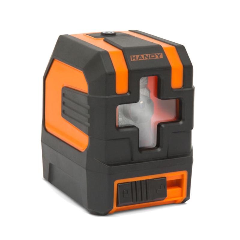 Nivela laser Handy, 10 mW, 1 mm/10 m, IP54, autoreglanta, boloboc digital, filet stativ incorporat 2021 shopu.ro