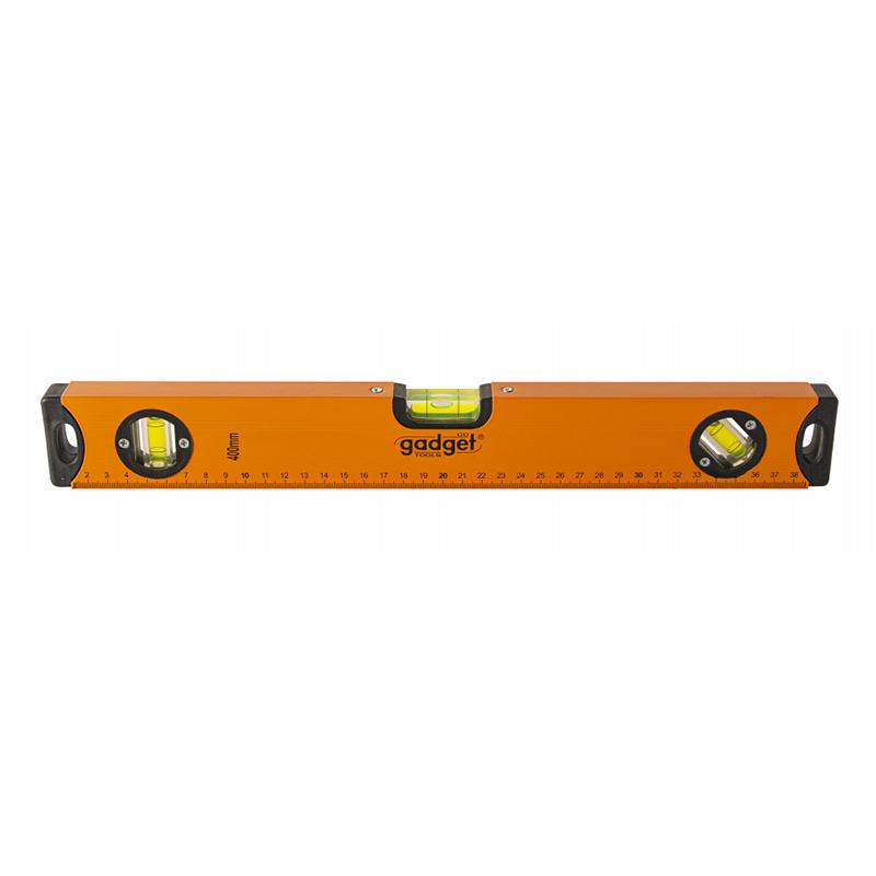 Nivela magnetica Gadget, 300 mm, 3 bule, aluminiu 2021 shopu.ro