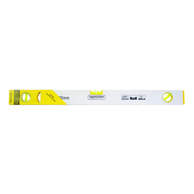 Nivela magnetica Top Master Pro, 600 mm, 3 bule, aluminiu shopu.ro