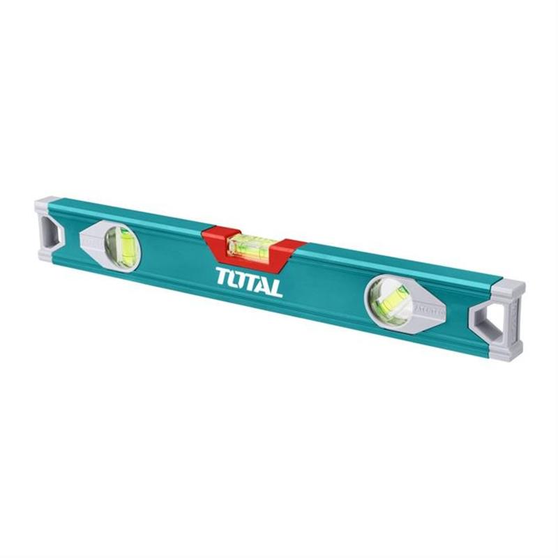 Nivela optica Total, 100 cm, 3 bule, aluminiu 2021 shopu.ro
