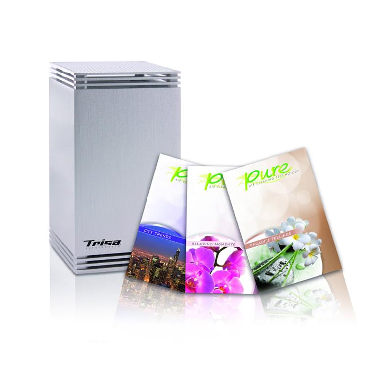 Odorizant de camera Pure Trisa, 1 W, 3 arome incluse 2021 shopu.ro