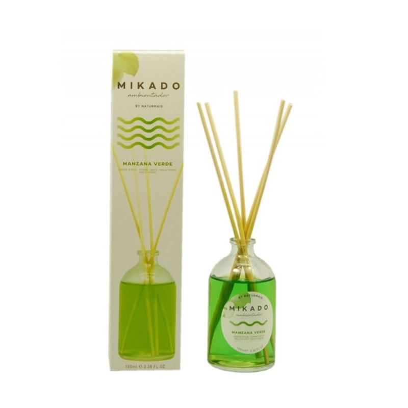 Odorizant de camera Mikado, mar verde, 100 ML, 5 bete, esenta de parfum 2021 shopu.ro
