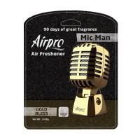 Odorizant tip microfon Mic Man Airpro, aroma Gold Bless